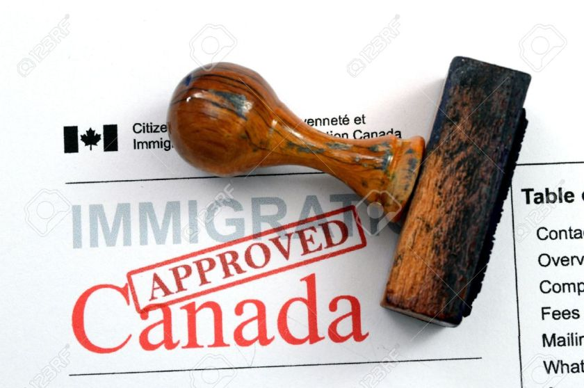 24953643-immigration-canada-approved-stock-photo