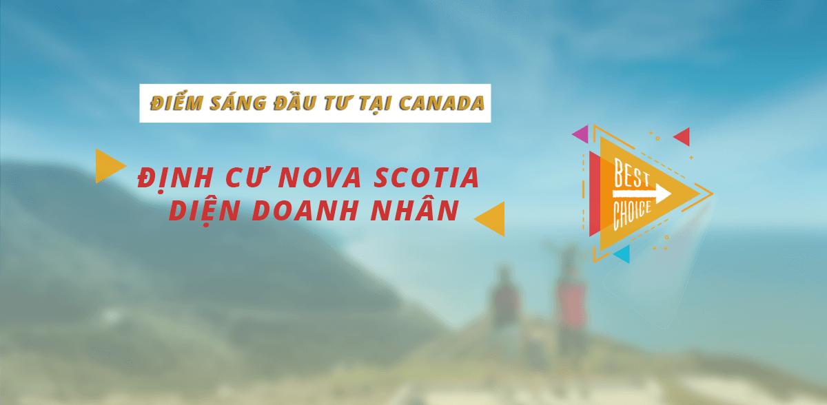 Định cư Nova Scotia diện doanh nhân