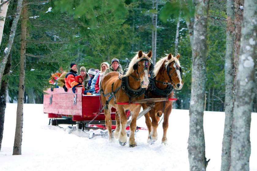 Mùa đông tại New Brunswick