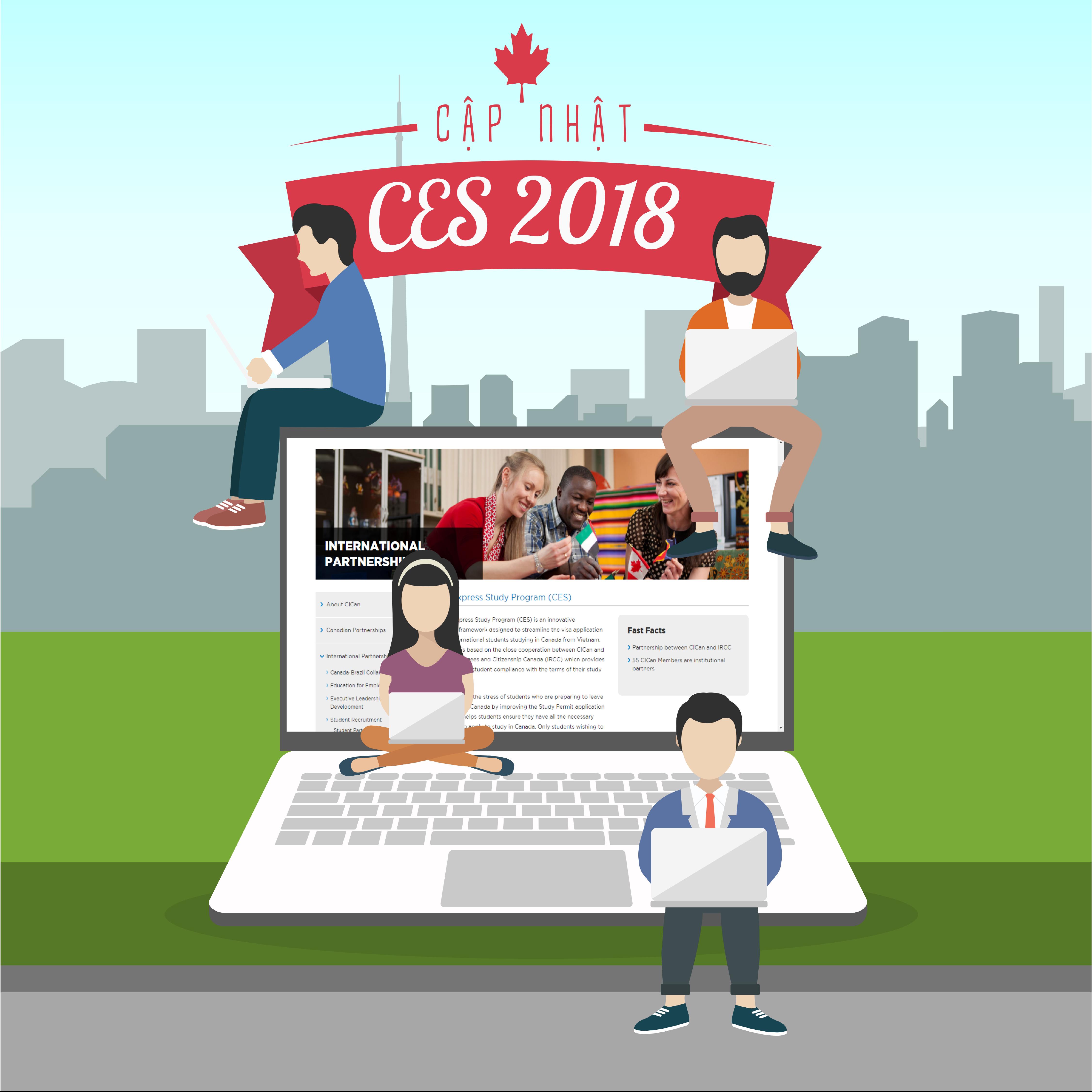 Cập nhật chương trình CES 2018