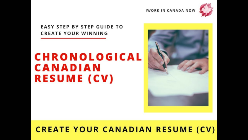 canadian resume