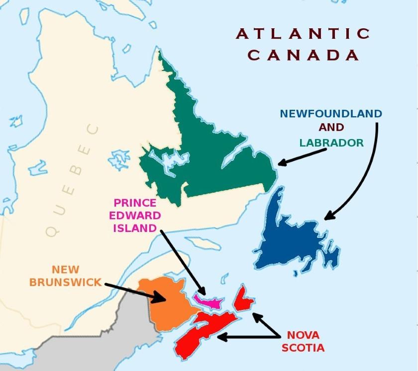 Atlantic provinces pilot Canada
